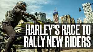 Harley-Davidson's race to rally new riders [Video]