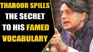 Shashi Tharoor's reply to a student seeking to learn a new word goes viral | OneIndia News [Video]