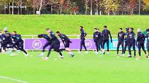 Raheem Sterling and Joe Gomez train together following England bust-up [Video]