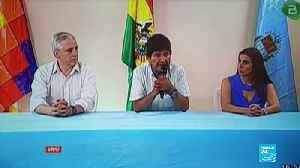 Ex-Bolivian President Evo Morales accepts political asylum in Mexico [Video]