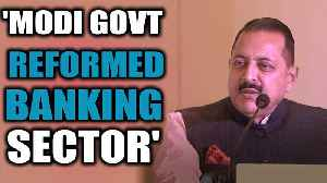 MoS Jitendra Singh speaks at the India Banking Conclave | OneIndia News [Video]