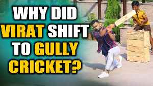 Virat Kohli takes part in Gully Cricket with kids, video goes viral | OneIndia News [Video]