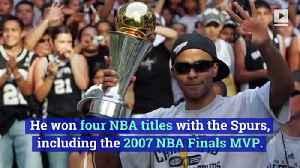 San Antonio Spurs Retire Tony Parker's No. 9 Jersey [Video]