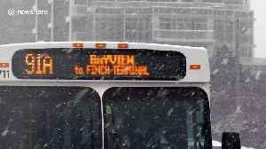 Historical snowfall slams Toronto area [Video]