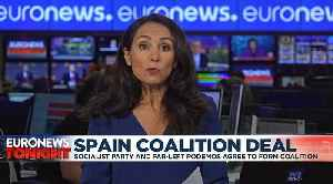 Socialists and Podemos reach coalition deal in bid to form Spain's next government [Video]