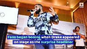 Drake Trolls Fans After Getting Booed at Camp Flog Gnaw Festival [Video]