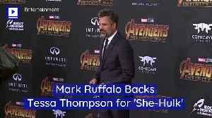 Mark Ruffalo Backs Tessa Thompson for 'She-Hulk' [Video]