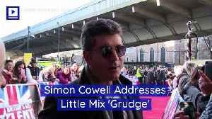 Simon Cowell Addresses Little Mix 'Grudge' [Video]