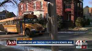 App allows KCPS parents to track child's bus in real time [Video]