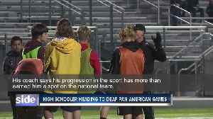17-year-old soccer player heads to 2019 Deaf Pan American Games [Video]