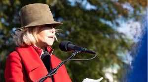 Jane Fonda Swears Off Shopping [Video]