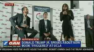 Trump Jr. at UCLA event [Video]