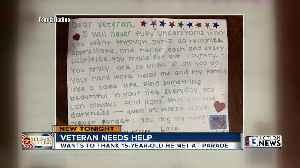 Veteran seeks teen who gave him touching letter at Las Vegas Veterans Day parade [Video]