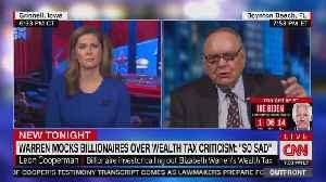 Billionare Leon Cooperman slams Warren [Video]