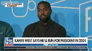 Kanye: Why Are Ya'll Laughing? I Am Running For POTUS In 2024 [Video]