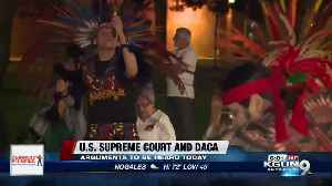DACA supporters gather in prayer outside Arizona capitol ahead of Supreme Court vote [Video]