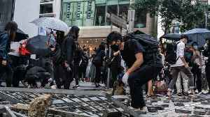 Hong Kong Protesters Extend Demonstrations Into The Work Week [Video]