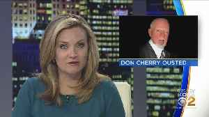 News video: Hockey Commentator Don Cherry Fired