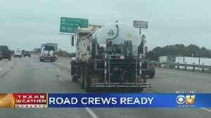 TxDOT Crews Pretreat Roads Ahead Of Freezing Temperatures [Video]