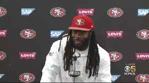 Richard Sherman Geared Up For 49ers Game Against His Old Team [Video]