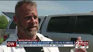 MANNFORD POLICE CHIEF KILLED IN FLORIDA [Video]
