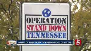 Operation Stand Down TN in need of food donations [Video]