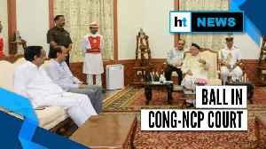 Maharashtra Governor invites NCP; Sonia, Pawar continue talks on Sena tie-up [Video]
