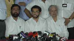 News video: Shiv Sena is willing to form government in Maharashtra Aaditya Thackeray after meeting Governor