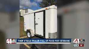 Trailer filled with meals for veterans stolen from nonprofit group on Veterans Day [Video]