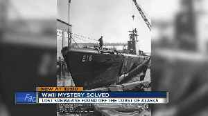 WWII mystery solved: lost submarine found off the coast of Alaska [Video]