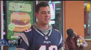 Joe Cardona Surprises Veterans At Dunkin' In Walpole [Video]