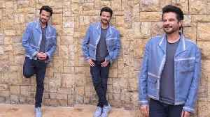 Anil Kapoor Spotted During Funny Photoshoot for PAGALPANTI Movie promotion At Jw Marriott [Video]