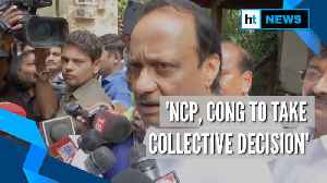 'Decision will be taken collectively by NCP & Congress': Ajit Pawar [Video]