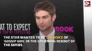 Chace Crawford wanted to be the voice of Gossip Girl [Video]
