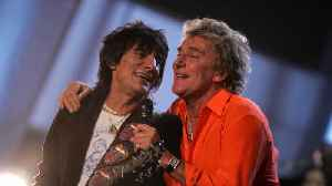 Ronnie Wood encouraged Rod Stewart to open up on cancer battle [Video]