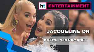 News video: Jacqueline Fernandez excited about Katy Perry's upcoming performance in India