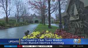 NJ Country Club Sues Waiter Over Spilled Wine [Video]