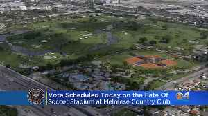 Miami Commission Scheduled To Vote On Lease Of Melreese Land For Soccer Stadium [Video]