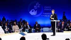 Paris Peace Forum: Macron attacks 'hypocrisy' over backlash to his NATO criticism [Video]