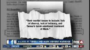 What was Teresa and Mark Sievers' marriage like? [Video]