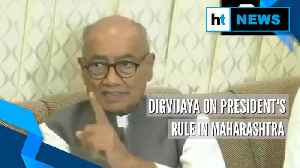 President's rule due to pressure from PM, HM, says Congress' Digvijaya Singh [Video]