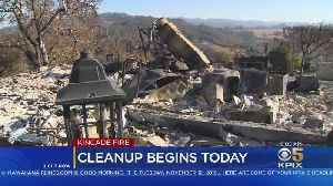 Cleanup Gets Underway In Kincade Fire Zone [Video]