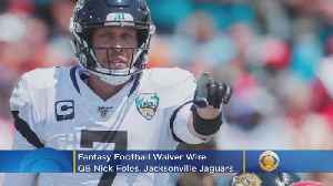 News video: Fantasy Football Waiver Wire Week 11