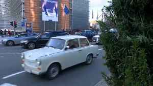 The Brief: a time-travel trip in a Trabant - 'Ostalgia' in Brussels [Video]