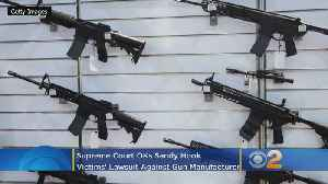 News video: Supreme Court OKs Sandy Hook Victims' Lawsuit Against Gun Manufacturer