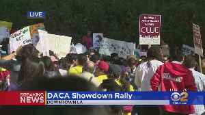 DACA Supporters Hold Rally In Downtown LA As Supreme Court Hears Case [Video]