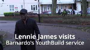 Lennie James: Generations of lives at risk if care charities are not funded [Video]