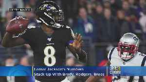 16 Starts Into His Career, Lamar Jackson's Numbers Stack Up With Brady, Rodgers, Brees [Video]