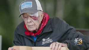Former President Jimmy Carter Recovering From Brain Surgery In Atlanta [Video]