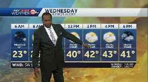 Warmer day ahead Wednesday [Video]